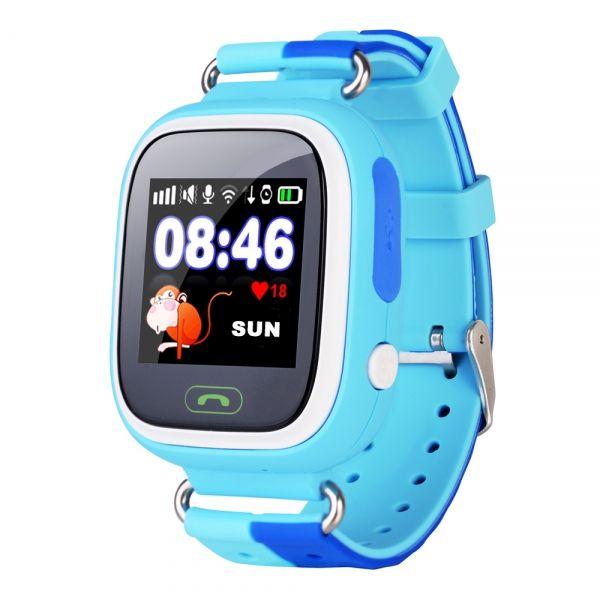 Smart часы детские с GPS GP-01 Синие (*7)