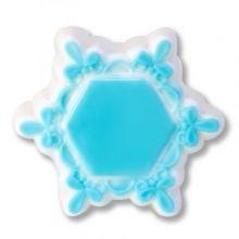 Форма для мыла Рамка снежинка