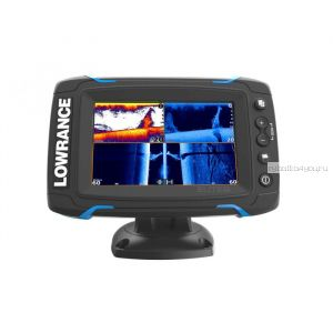 Эхолот  Lowrance Elite-5Ti Mid/High/TotalScan (Артикул:000-12423-001)