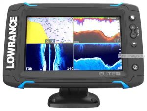 Эхолот  Lowrance Elite-7Ti Mid/High/TotalScan (Артикул: 000-12419-001)