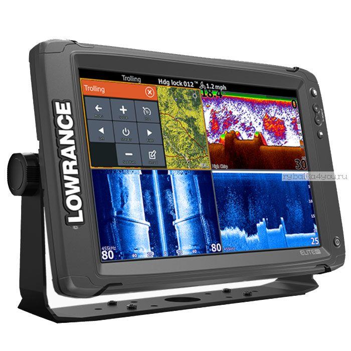 Эхолот  Lowrance Elite-12Ti TotalScan Transducer (Артикул:000-13718-001)