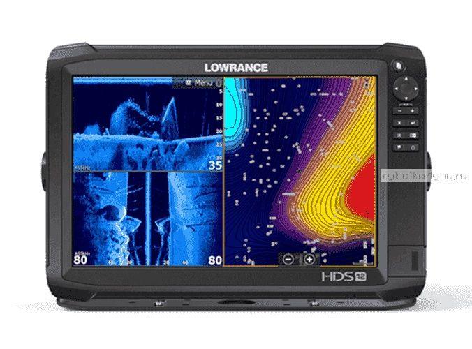 Эхолот  Lowrance HDS-12 Carbon No Transducer (Артикул:000-13690-001)