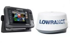 Эхолот  Lowrance 4G BB Radar KIT (Артикул:000-10419-001)