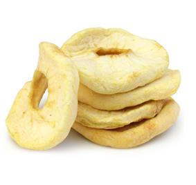 Яблоко кольцо вяленое