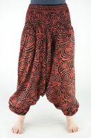 Оранжевые штаны алладины (афгани) из хлопка. Санкт-Петербург (СПб)