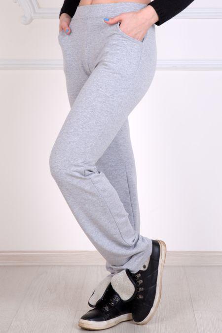 Спортивные женские брюки, серые