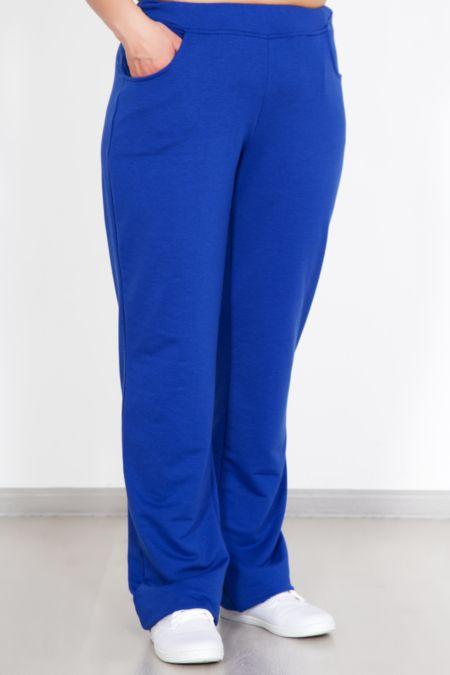 Спортивные женские брюки, синие
