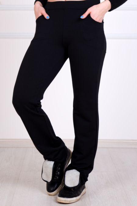 Спортивные женские брюки, черные