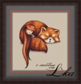 "Cross stitch pattern ""Mia""."
