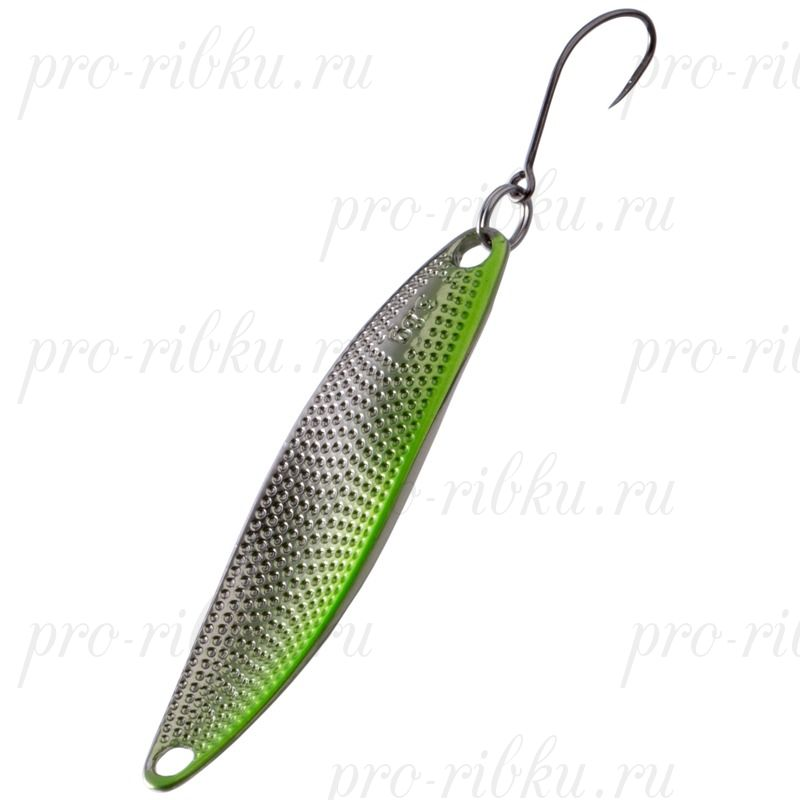 Блесна Fish Image Curve 11.8g L 70 mm Lime Silver LM S#204