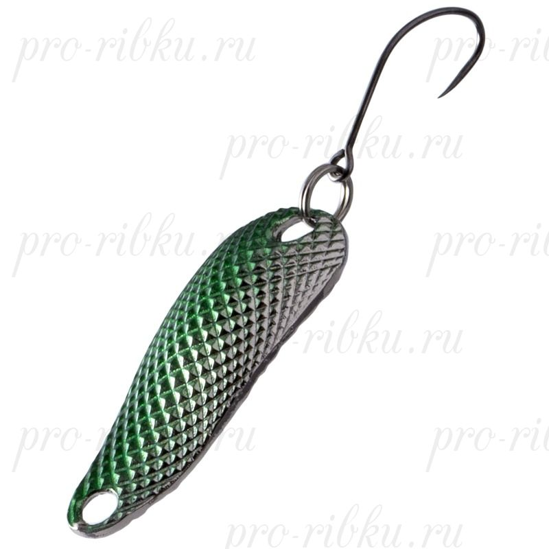Блесна Fish Image Diamond 2.5g Jungle Green Silver JGR S#217