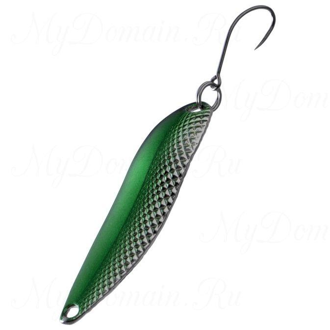Блесна Fish Image Kagesasu 6.8g Green Silver GR S#201