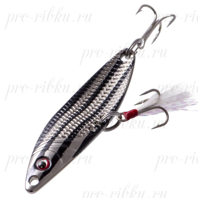 Блесна Fish Image Needle 10g L 65 mm Black Striper BSTR#208