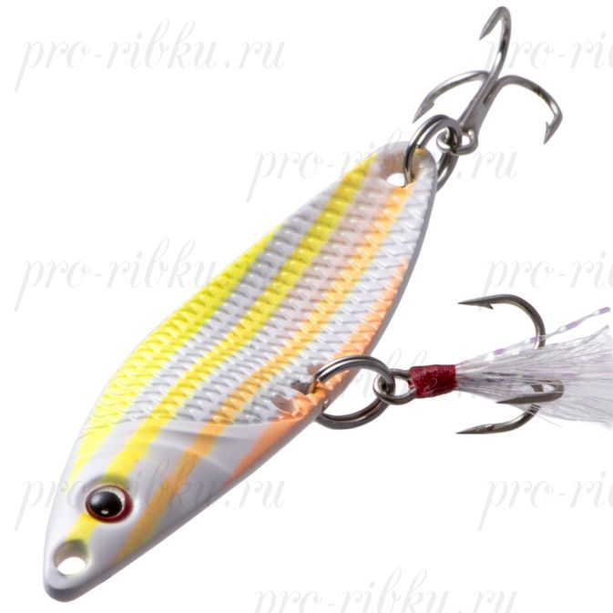 Блесна Fish Image Needle 15g Fluo Striper NLM#702