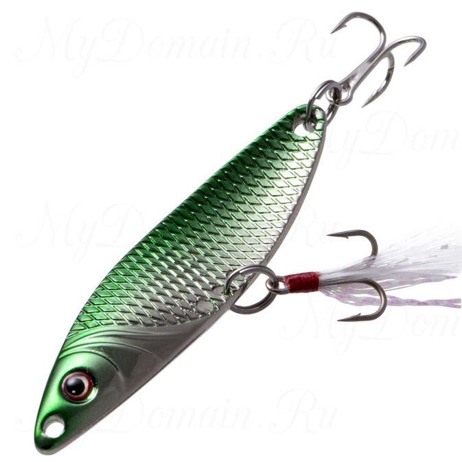Блесна Fish Image Needle 5g Jungle Green Silver JGR S#217