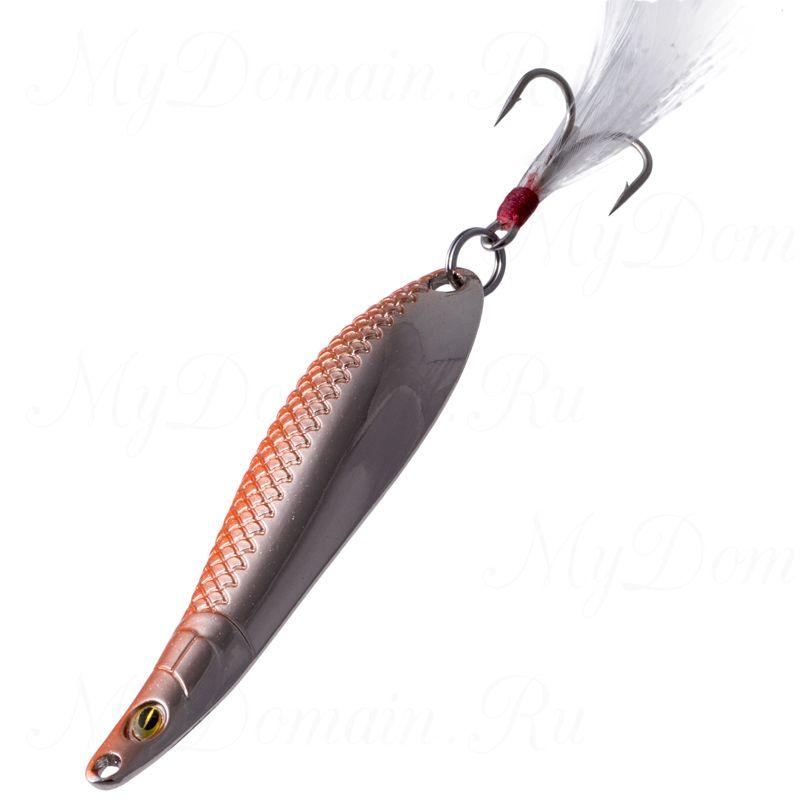 Блесна Fish Image Phoenix Dance-l 10g Orange Silver OR S#203