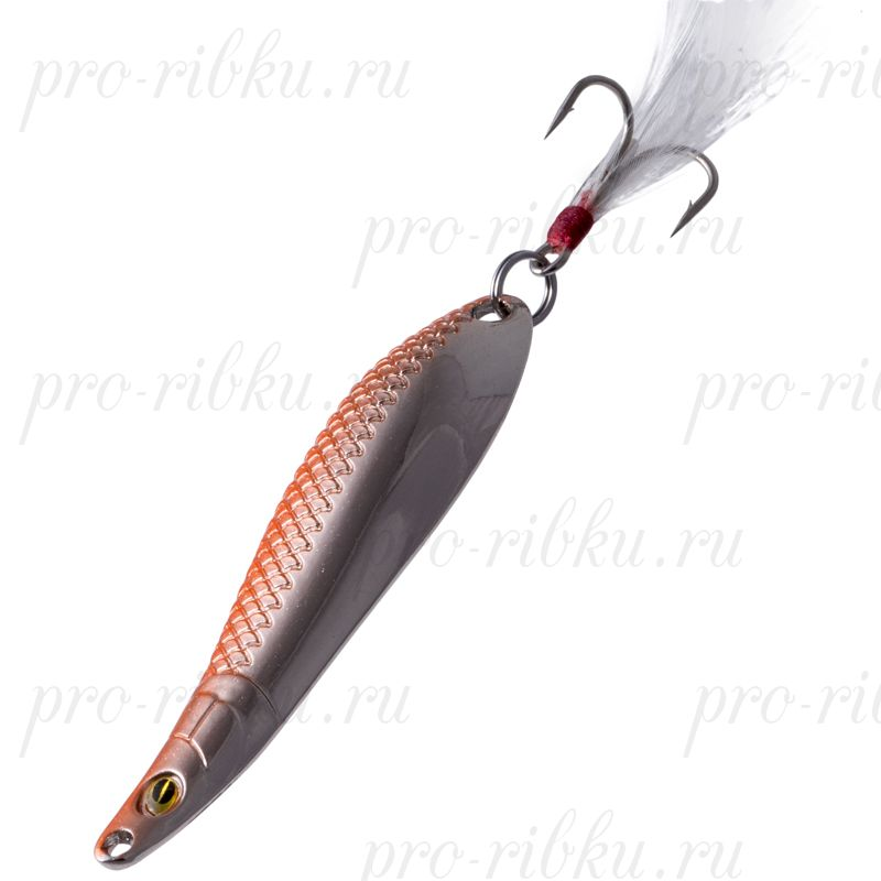 Блесна Fish Image Phoenix Dance-l 5g Orange Silver OR S#203