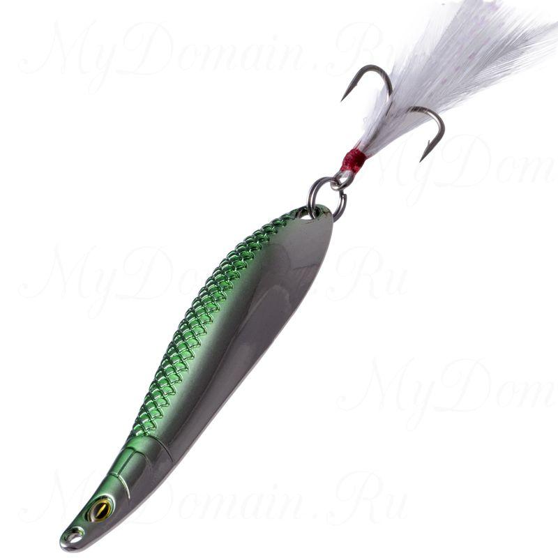 Блесна Fish Image Phoenix Dance-l 7.5g Jungle Green Silver JGR S#217