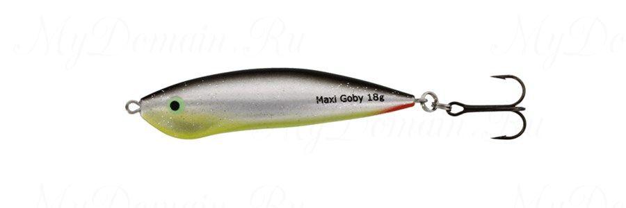 Блесна Westin Maxi Goby, 70 мм, 18 гр, UV, #Rotten Lemon