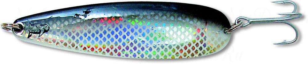 Блесна троллинговая колеблющаяся Rhino Trolling Spoons I модель MAG 115 мм, 16 гр., расцветка: Black Shiner