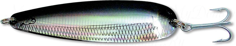 Блесна троллинговая колеблющаяся Rhino Trolling Spoons I модель MAG 115 мм, 16 гр., расцветка: Black Devil