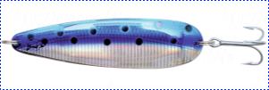Блесна троллинговая колеблющаяся Rhino Trolling Spoons I модель Xtra MAG 115 мм, 27 гр., расцветка: King Salmon