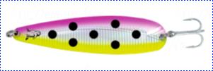 Блесна троллинговая колеблющаяся Rhino Trolling Spoons II модель MAG 115 мм, 16 гр., расцветка: Pink Sunshine