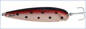 Блесна троллинговая колеблющаяся Rhino Trolling Spoons II модель MAG 115 мм, 16 гр., расцветка: copper fire angel