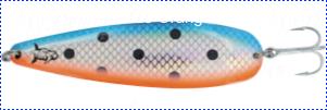 Блесна троллинговая колеблющаяся Rhino Trolling Spoons III модель MAG 115 мм, 16 гр., расцветка: natural copper blue dolphin