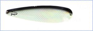 Блесна троллинговая колеблющаяся Rhino Trolling Spoons III модель Xtra MAG 115 мм, 16 гр., расцветка: glow blue shiner