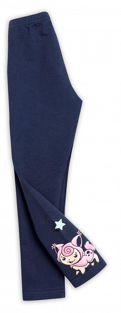 Темно-синие брюки для девочки 4 лет