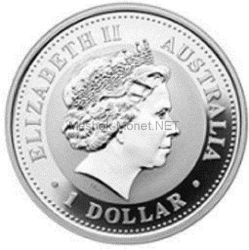 1 доллар 2004 года, Австралия, Год Обезьяны