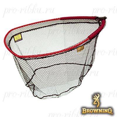 Подсак без ручки Browning Power Carp Gold Net Head XL 60cmx50cmx25cm