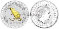 1 доллар 2007 года, Австралия, Год Крысы 2008