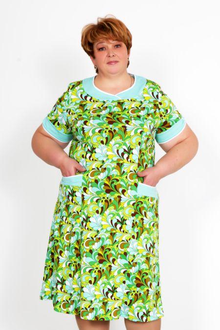 """Платье """"Даниэль"""" зеленое"""