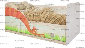 Кровать Минима Сказка (80х160)