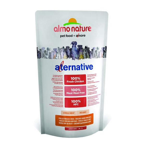 Корм сухой Almo nature Alternative (50%) для собак карликовых и мелких пород с цыпленком и рисом 3,75кг