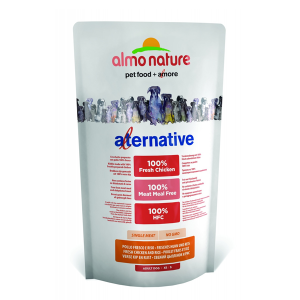Корм сухой Almo nature Alternative (50%) для собак карликовых и мелких пород с цыпленком и рисом 750гр