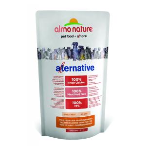 Корм сухой Almo nature Alternative (50%) для собак карликовых и мелких пород с цыпленком и рисом 750гр