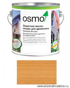 Защитное масло-лазурь для древесины для наружных работ OSMO Holzschutz Ol-Lasur 702 Лиственница 0,75 л