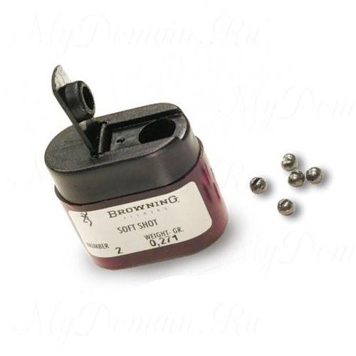 Набор грузил Browning Micro Shot Dispenser размер #2/0, вес 0,425 гр;