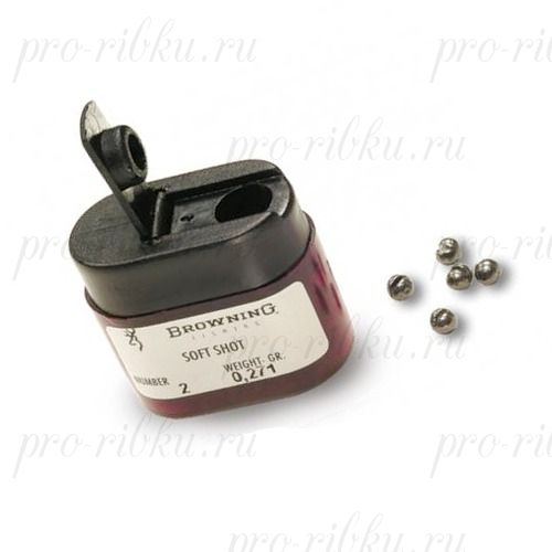 Набор грузил Browning Micro Shot Dispenser размер #8, вес 0.070 г
