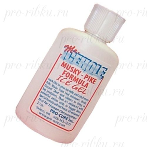 Зимний аттрактант Pro-Cure, Mr Icehole Ice Fishing Gel 2 oz. (Walleye Formula)