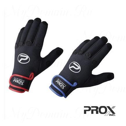 Перчатки Prox 5-cut Fit Glove DX Black/Red