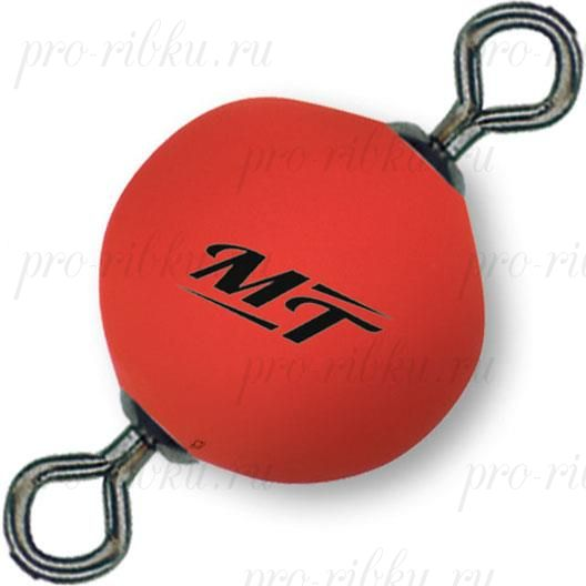 Коннектор (плавающий) Quantum Float Connector Swivel d10mm 14kg 5psc red