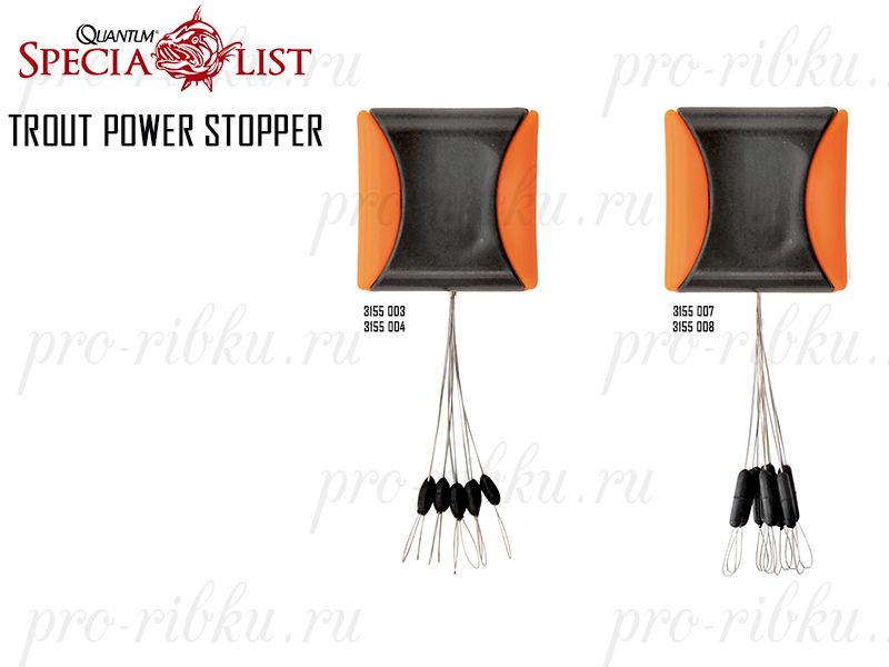 Стопор квадратный Magic Trout Power Stopper Square, размер SSS, 10 шт.