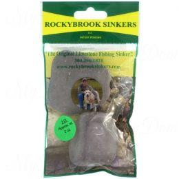 Грузила RockyBrookSinkers Class 3, камень от 21 до 56гр.,вертлюг, в уп.2-3шт. 56гр(2 OZ.)-2шт.