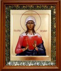 Александра Коринфская (19х22), светлый киот