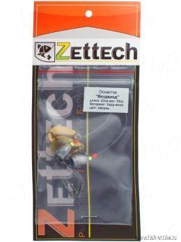 "Оснастка ZETTECH ""Вездеход"" ,пуля10гр,20см,лепесток-латунь,в уп. 2шт(ZTTCH-Vzdhd-10g-20cm-2pcs)"