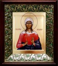 Александра Коринфская (21х24), киот со стразами